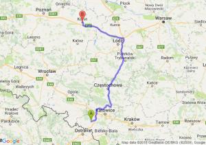 Trasa Rybnik - Konin