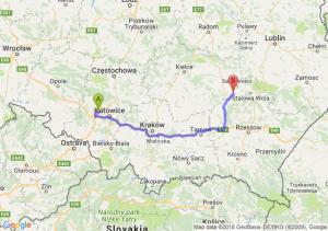 Trasa Zabrze - Tarnobrzeg