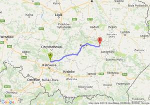 Pyrzowice - Ostrowiec Świętokrzyski
