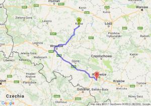 Trasa Kalisz - Mikołów