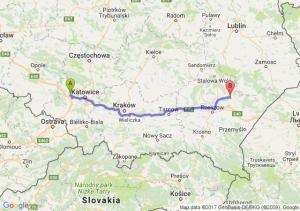 Gliwice - Leżajsk