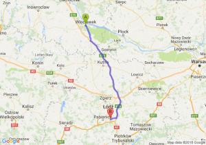 Trasa Włocławek - Rzgów