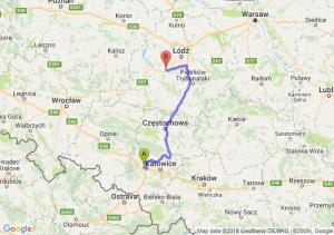 Trasa Gliwice - Łask