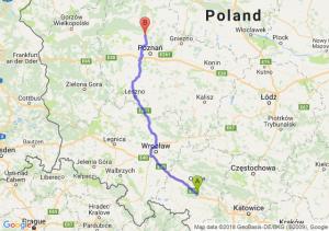 Trasa Dąbrówka Górna - Oborniki