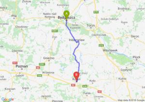 Trasa Bydgoszcz - Konin