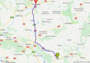 Trasa Lipno - Grudziądz