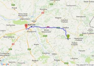 Trasa Łuków - Pruszków