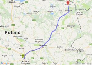 Trasa Rzgów - Suwałki