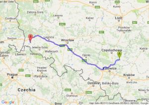 Trasa Bobolice - Lubań