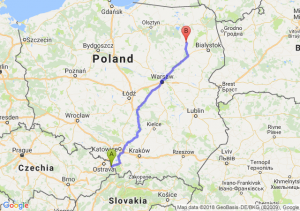 Trasa Cieszyn - Stawiski