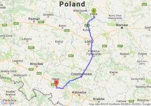 Trasa Płock - Krapkowice