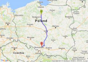 Trasa Grudziądz - Zabrze