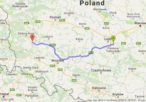 Trasa Borowa - Bytom Odrzański