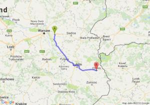 Trasa Choszczówka Stojecka - Chełm