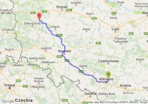 Trasa Będzin - Kargowa