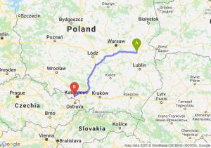 Trasa Łuków - Racibórz