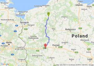 Barwice (zachodniopomorskie) - Nowy Tomyśl (wielkopolskie)
