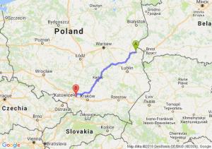 Trasa Biała Podlaska - Mysłowice