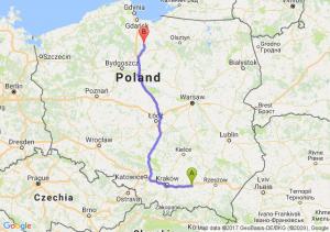 Trasa Tarnów - Kwidzyn