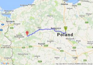 Trasa Lubicz Dolny - Drezdenko