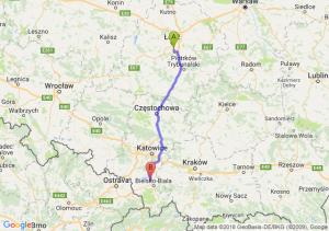 Trasa Rzgów - Czechowice-Dziedzice