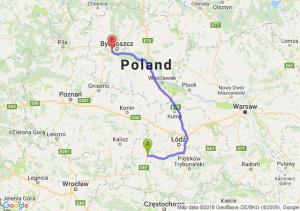 Trasa Sieradz - Białe Błota