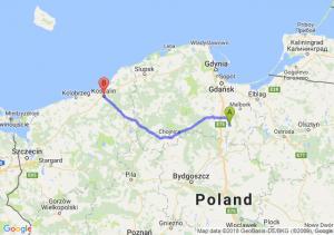 Trasa Gniew - Koszalin