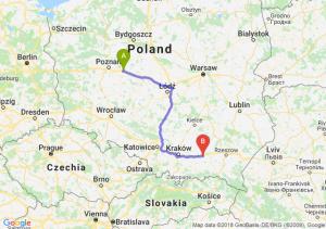 Trasa Września - Tarnów