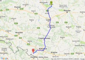 Trasa Płock - Racibórz