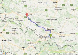 Bielsko-Biała - Tyniec Mały