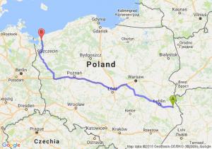 Trasa Chełm - Parłowo
