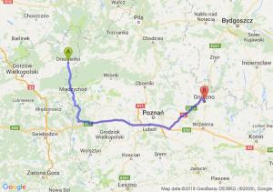 Trasa Drezdenko - Gniezno