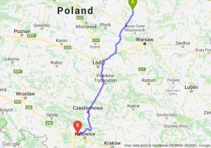 Trasa Ciechanów - Zabrze