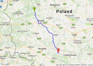 Trasa Ciszkowo - Ligota Górna