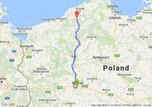 Luboń (wielkopolskie) - Kępice (pomorskie)