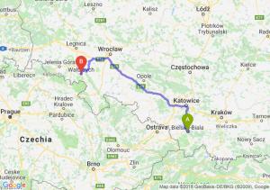 Trasa Bielsko-Biała - Wałbrzych