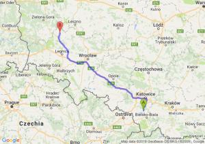 Trasa Pszczyna - Głogów
