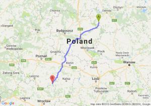 Nowe Miasto Lubawskie (warmińsko-mazurskie) - Krotoszyn (wielkopolskie)