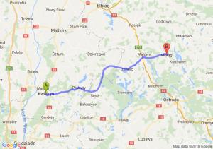 Trasa Kwidzyn - Morąg