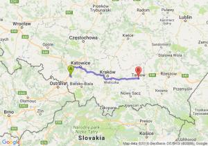 Trasa Żory - Tarnów