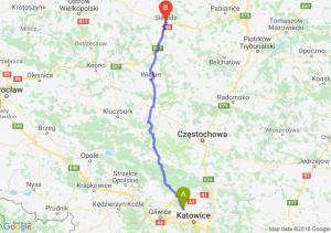 Trasa Bytom - Sieradz