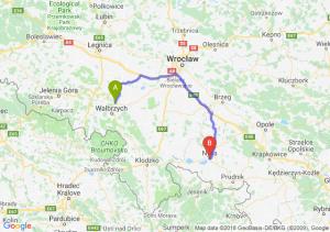 Trasa Świebodzice - Nysa