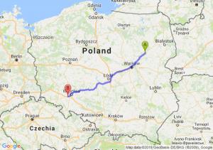 Trasa Ostrów Mazowiecka - Kąty Wrocławskie