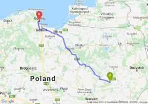 Trasa Ostrów Mazowiecka - Gdynia