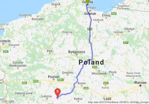 Trasa Gdynia - Piaski