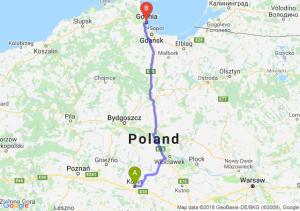 Trasa Konin - Gdynia