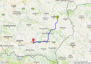 Trasa Piaski - Tarnów