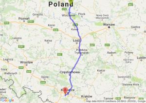Trasa Lipno - Mikołów