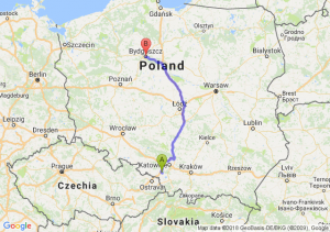 Żory - Bydgoszcz