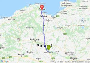 Trasa Włocławek - Gdynia